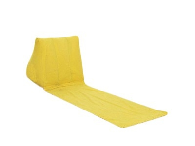 PVC pile coating triangle beach mattress